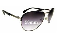 Sunglass Fix Replacement Lenses for Prada SPR51Q - 58mm wide
