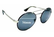 Sunglass Fix Replacement Lenses for Prada SPR51S - 54mm wide