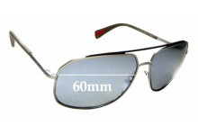 Sunglass Fix Replacement Lenses for Prada SPR 56R - 60mm wide