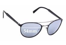 Sunglass Fix Replacement Lenses for Prada SPR 62T - 54mm Wide