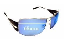 Sunglass Fix Replacement Lenses for Prada SPR 68H - 68mm wide