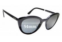 Sunglass Fix Replacement Lenses for Prada SPR02V - 54mm wide