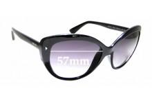 Sunglass Fix Replacement Lenses for Prada SPR 16S - 57mm Wide
