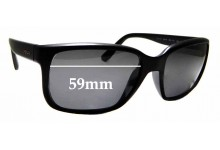 Sunglass Fix Replacement Lenses for Prada SPR21R - 59mm Wide