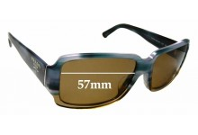 Sunglass Fix Replacement Lenses for Prada SPR32N-A - 57mm wide