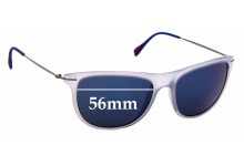 Sunglass Fix Replacement Lenses for Prada SPS 01P - 56mm Wide