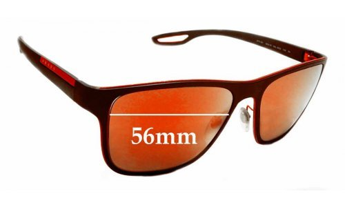 Prada SPS56Q Replacement Sunglass Lenses - 56mm wide
