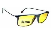 Sunglass Fix Replacement Lenses for Prada VPS 03E - 51mm wide