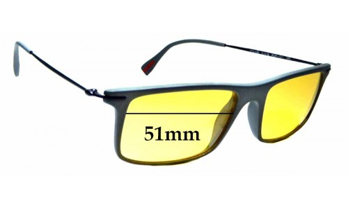 Sunglass Fix Replacement Lenses for Prada VPS 03E - 51mm wide