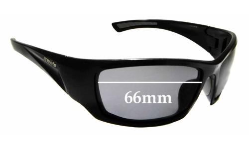 Sunglass Fix Replacement Lenses for Prosafe Atacama - 66mm Wide