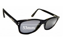 Sunglass Fix Replacement Lenses for Quiksilver 45 - 53mm Wide