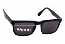 Sunglass Fix Replacement Lenses for Quiksilver QS Boardrider Sun Rx - 56mm wide
