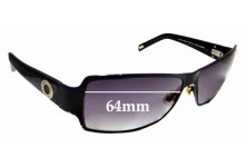 Sunglass Fix Replacement Lenses for R.M Williams Matilda PA710 - 64mm wide