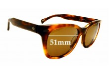 Sunglass Fix New Replacement Lenses for Raen Loro - 51mm Wide