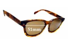 Sunglass Fix New Replacement Lenses for Raen Lyon - 51mm Wide