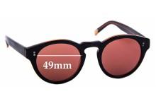 Sunglass Fix New Replacement Lenses for Raen Parkhurst - 49mm Wide