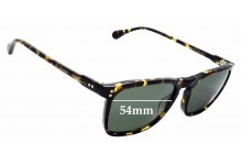 Sunglass Fix New Replacement Lenses for Raen Wiley - 54mm Wide