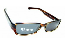 Sunglass Fix Replacement Lenses for Ralph Lauren 7529/S - 53mm wide