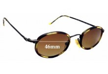 Sunglass Fix Replacement Lenses for Ralph Lauren 927/S - 46mm wide