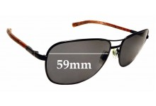 Sunglass Fix Replacement Lenses for Ralph Lauren PH3076 - 59mm wide