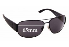 Sunglass Fix Replacement Lenses for Ralph Lauren Polo 3063 - 65mm wide