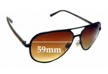 Sunglass Fix Replacement Lenses for Ralph Lauren Polo PH 3102 - 59mm wide