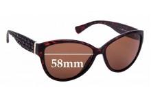 Sunglass Fix Replacement Lenses for Ralph Lauren RA 5176 - 58mm wide