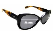 Sunglass Fix Replacement Lenses for Ralph Lauren RA5180 - 58mm wide