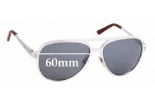 Sunglass Fix Replacement Lenses for Ralph Lauren RL 7049Q - 60mm wide