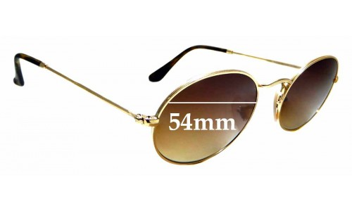 Sunglass Fix Replacement Lenses for Ray Ban RB3547-N - 54mm wide