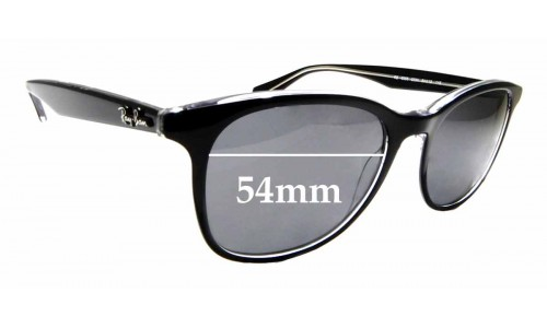 Sunglass Fix Replacement Lenses for Ray Ban RB5356 - 54mm wide
