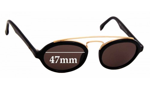 Sunglass Fix Replacement Lenses for Ray Ban Gatsby Style 6 W0940 - 47mm wide