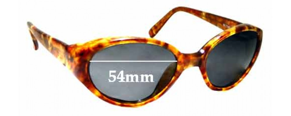 Sunglass Fix Replacement Lenses for Ray Ban B&L Rituals W2789 - 54mm Wide