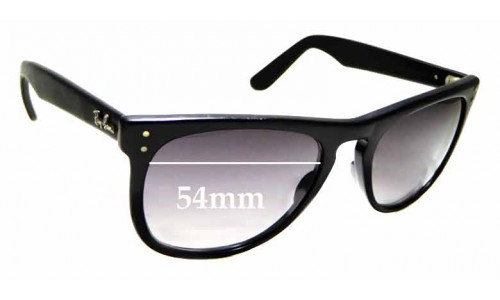 Sunglass Fix Replacement Lenses for Ray Ban Casablanca Bausch and Lomb - 54mm wide x 44.8mm high