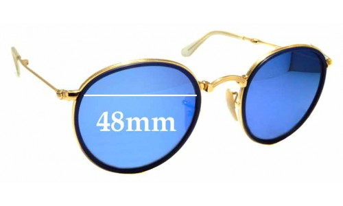 Sunglass Fix Replacement Lenses for Ray Ban Folding RB3517 - 48mm wide