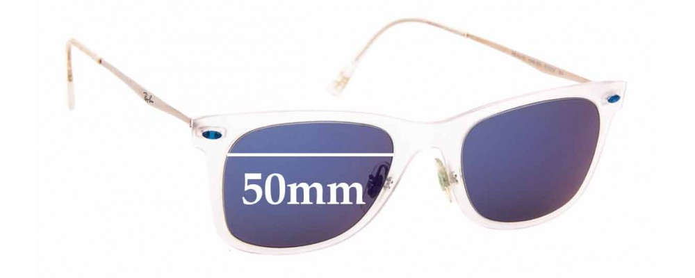 Sunglass Fix Replacement Lenses for Ray Ban LightRay RB4210 - 50mm wide