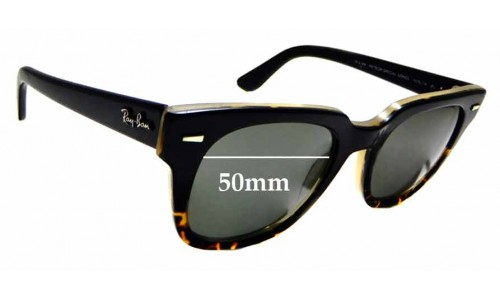 Sunglass Fix Replacement Lenses for Ray Ban Meteor Special Series RB4168 - 50 mm wide