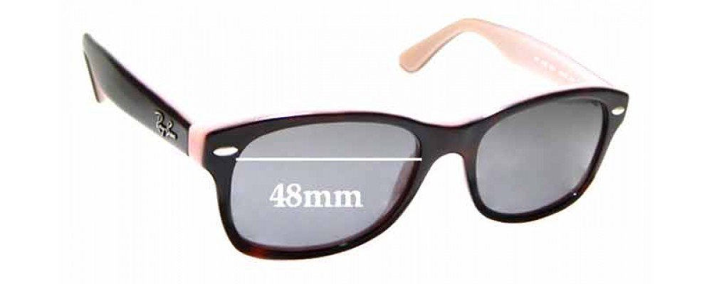 Sunglass Fix Replacement Lenses for Ray Ban RB1528 - 48mm wide