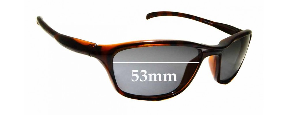 Sunglass Fix Replacement Lenses for Ray Ban Cutters RB2046 - 53mm Wide