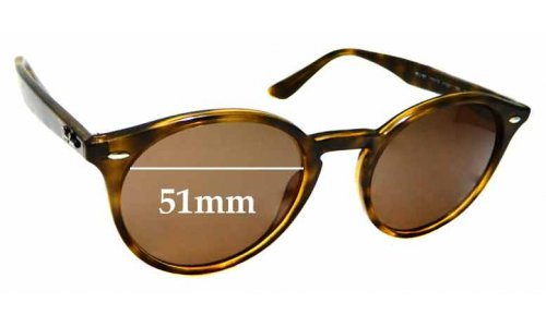 Ray Ban RB2180 Replacement Sunglass Lenses - 49mm wide