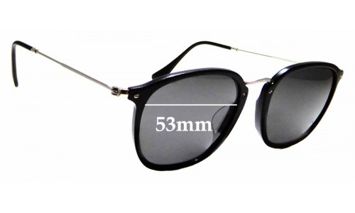 Sunglass Fix Replacement Lenses for Ray Ban RB2448-N-F - 53mm wide
