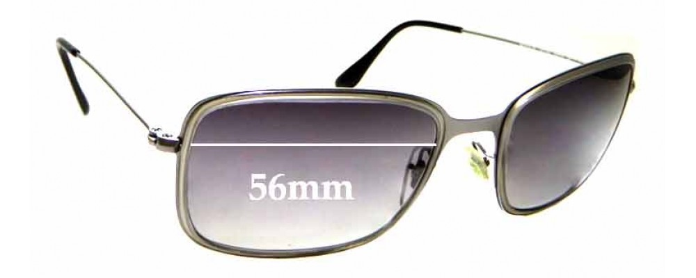 Sunglass Fix Replacement Lenses for Ray Ban RB3514-M - 56mm wide
