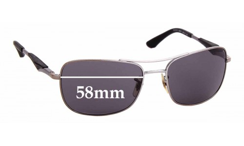 Sunglass Fix Replacement Lenses for Ray Ban RB3515 - 58mm Wide