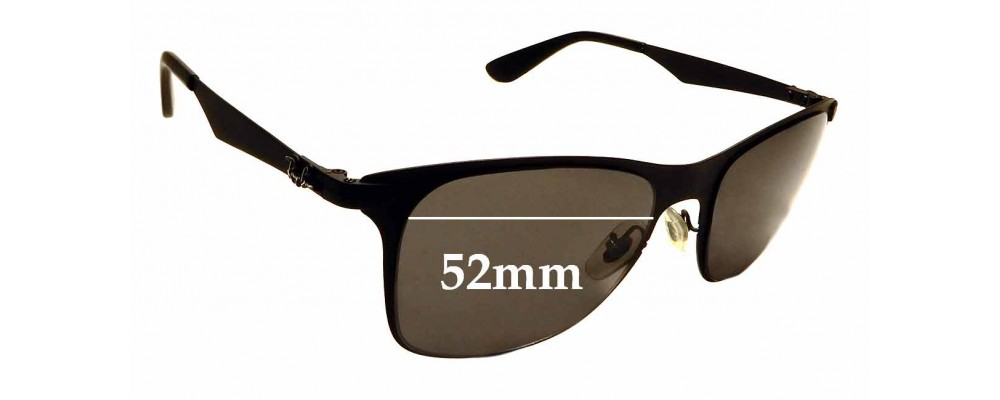 Sunglass Fix Replacement Lenses for Ray Ban RB3521 - 52mm wide