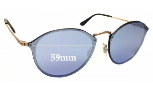 Sunglass Fix Replacement Lenses for Ray Ban RB3574-N - 59mm across