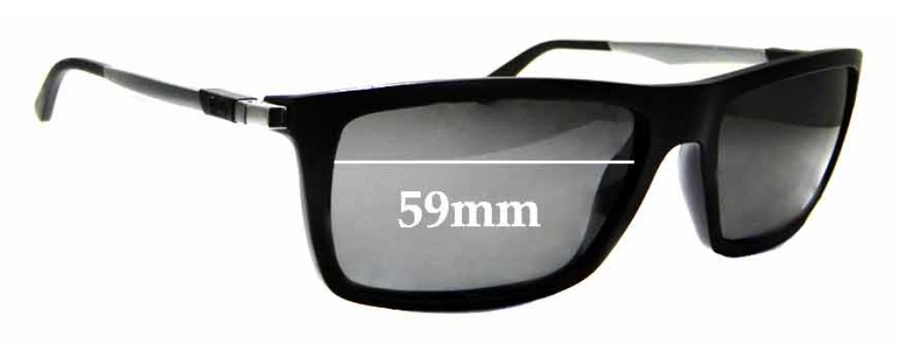 Sunglass Fix Replacement Lenses for Ray Ban RB4214 - 59mm wide