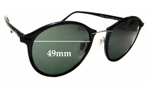 Sunglass Fix Replacement Lenses for Ray Ban RB4242 LightRay - 49mm wide
