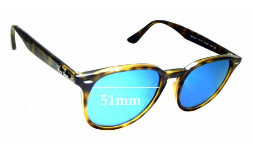 Sunglass Fix Replacement Lenses for Ray Ban RB4259 - 51mm wide