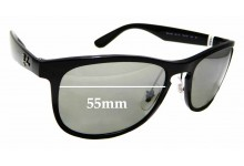 Sunglass Fix Replacement Lenses for Ray Ban RB4263- 55mm wide