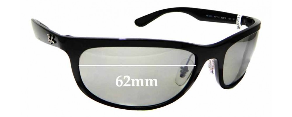 22aa6a36600 Sunglass Fix Replacement Lenses for Ray Ban RB4265 - 62mm wide ...